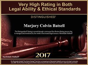 Marjory Colvin-Batsell AV Certification